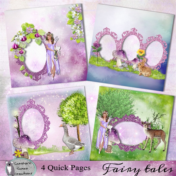 Fairy Tales quick pages