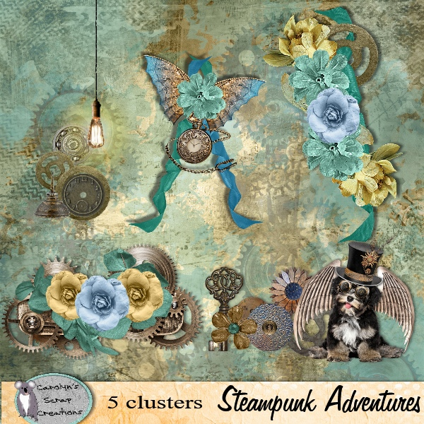 Steampunk Adventures clusters