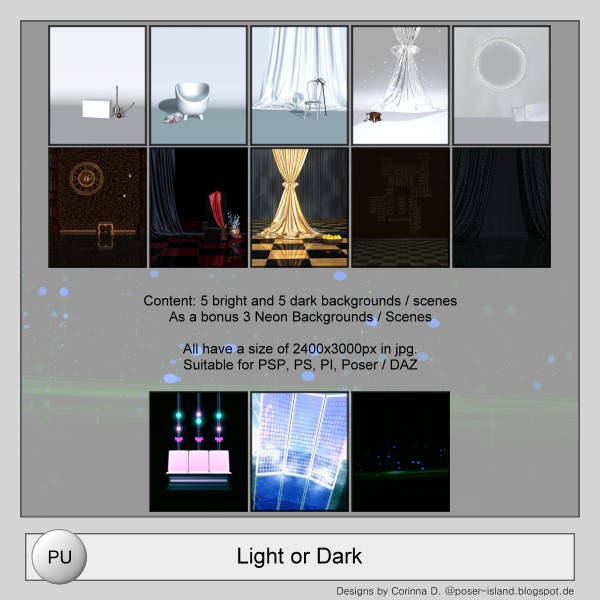 Scenes_Light or Dark