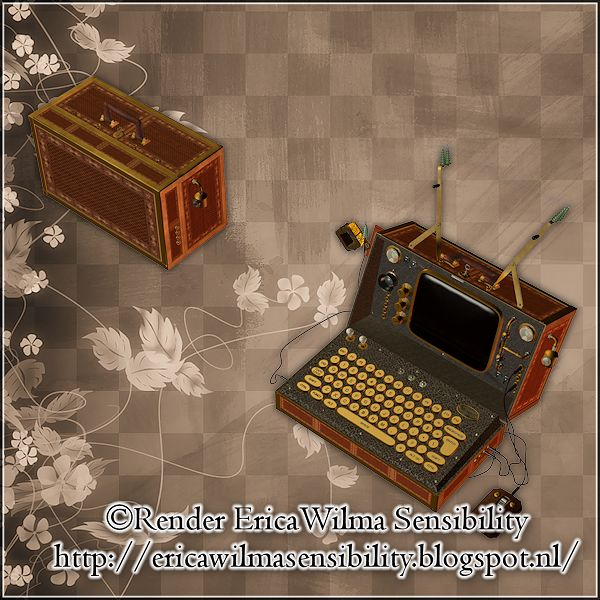 EW Steampunk Laptop