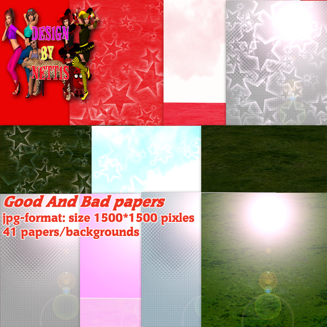 Good and Bad backgrounds/papers