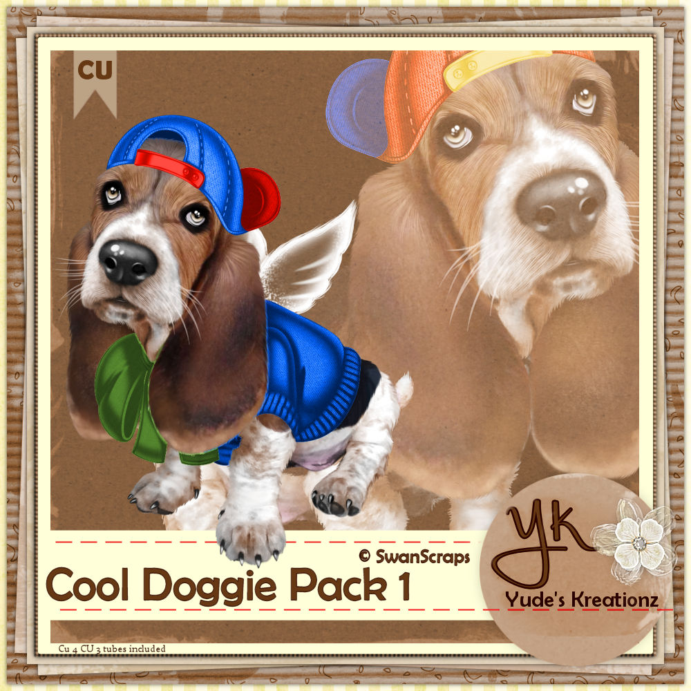 Cool Doggie Pack 1