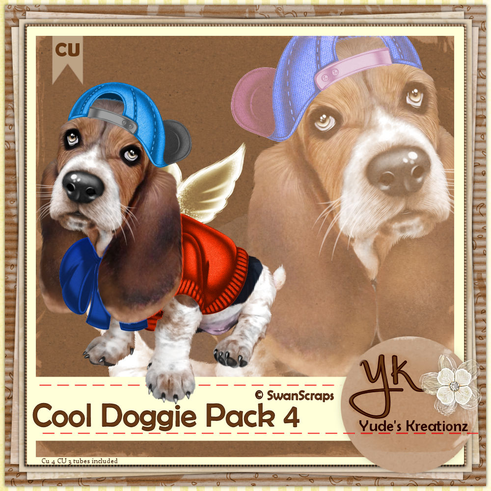 Cool Doggie Pack 4