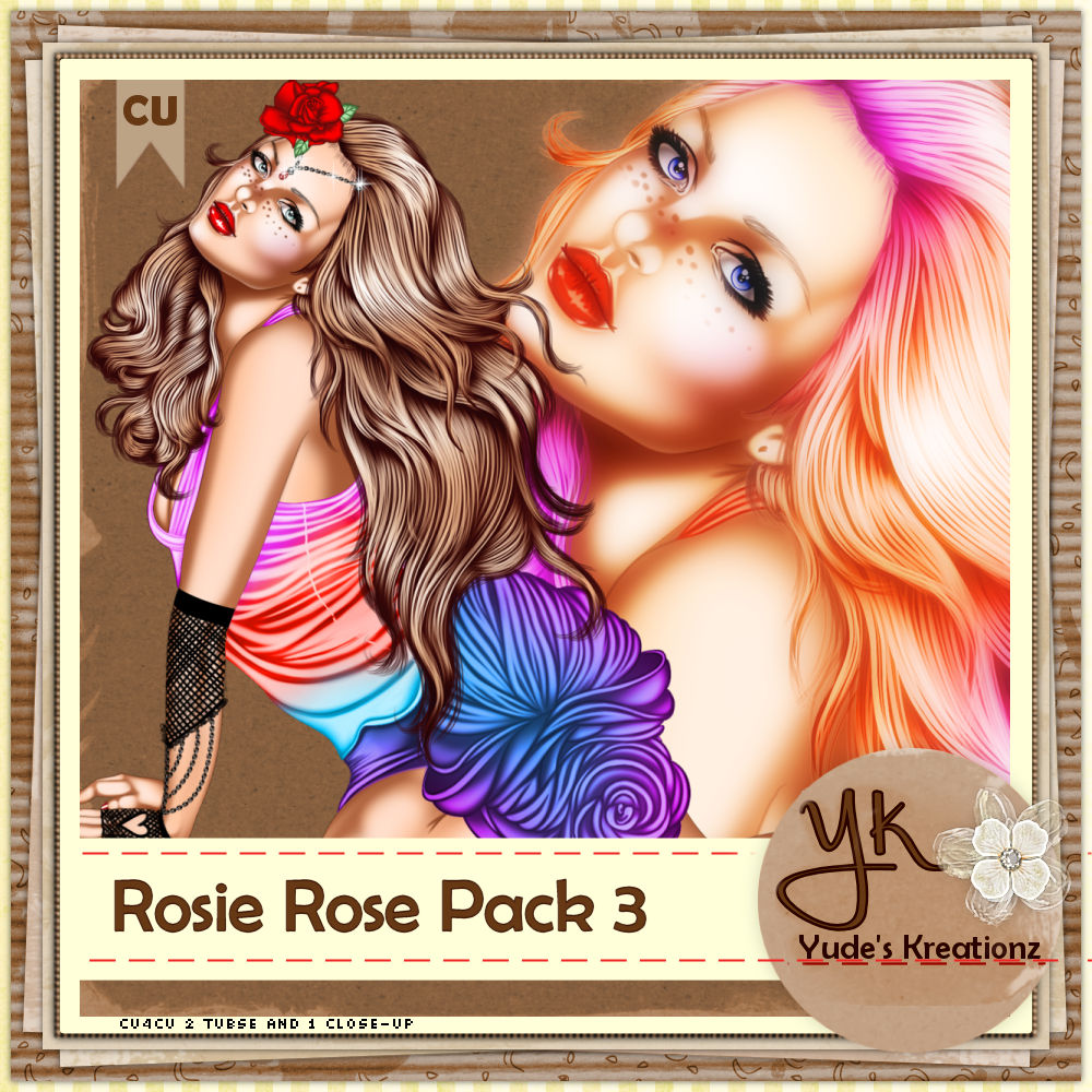 Rosie Rose Pack 3