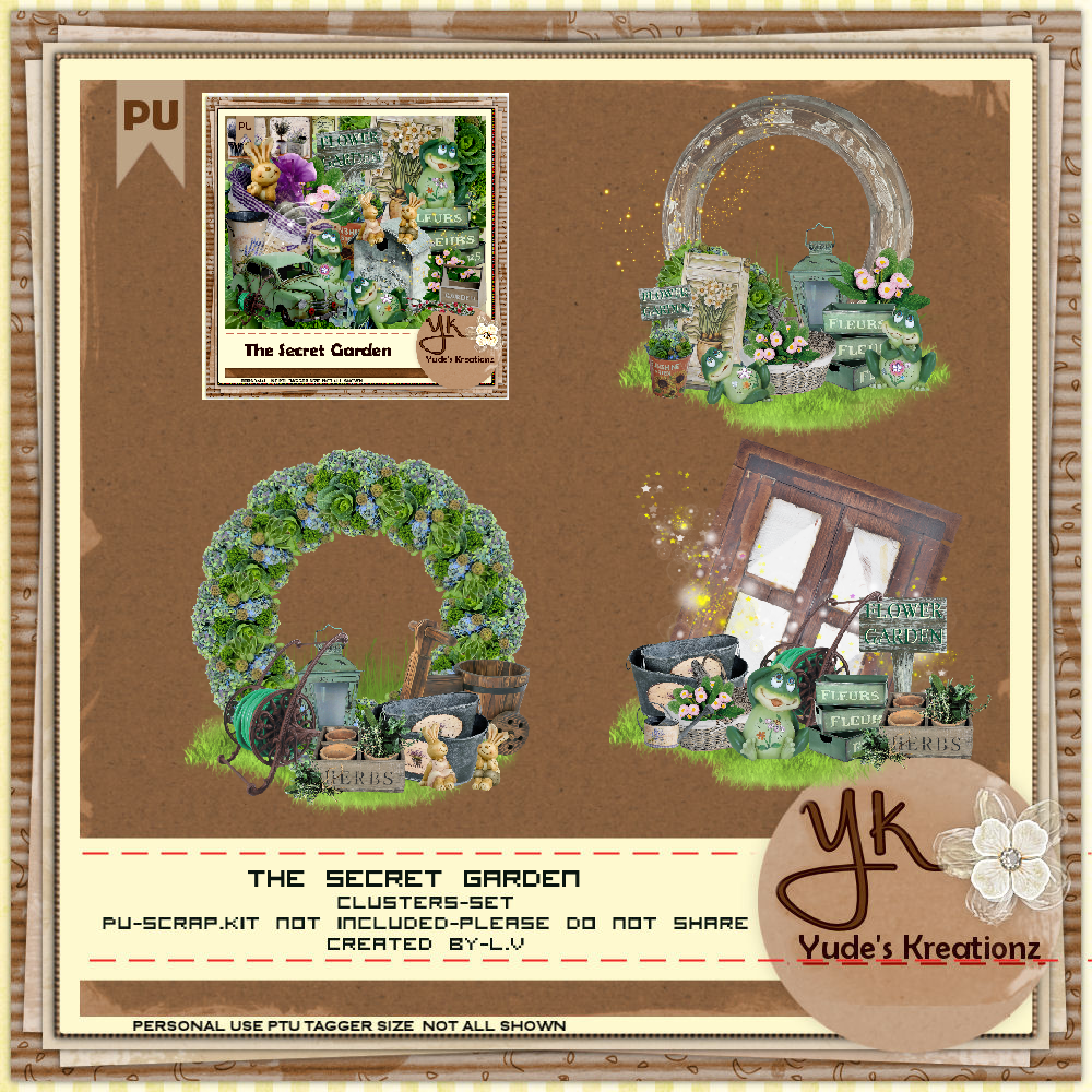 The Secret Garden Cluster 2 PU
