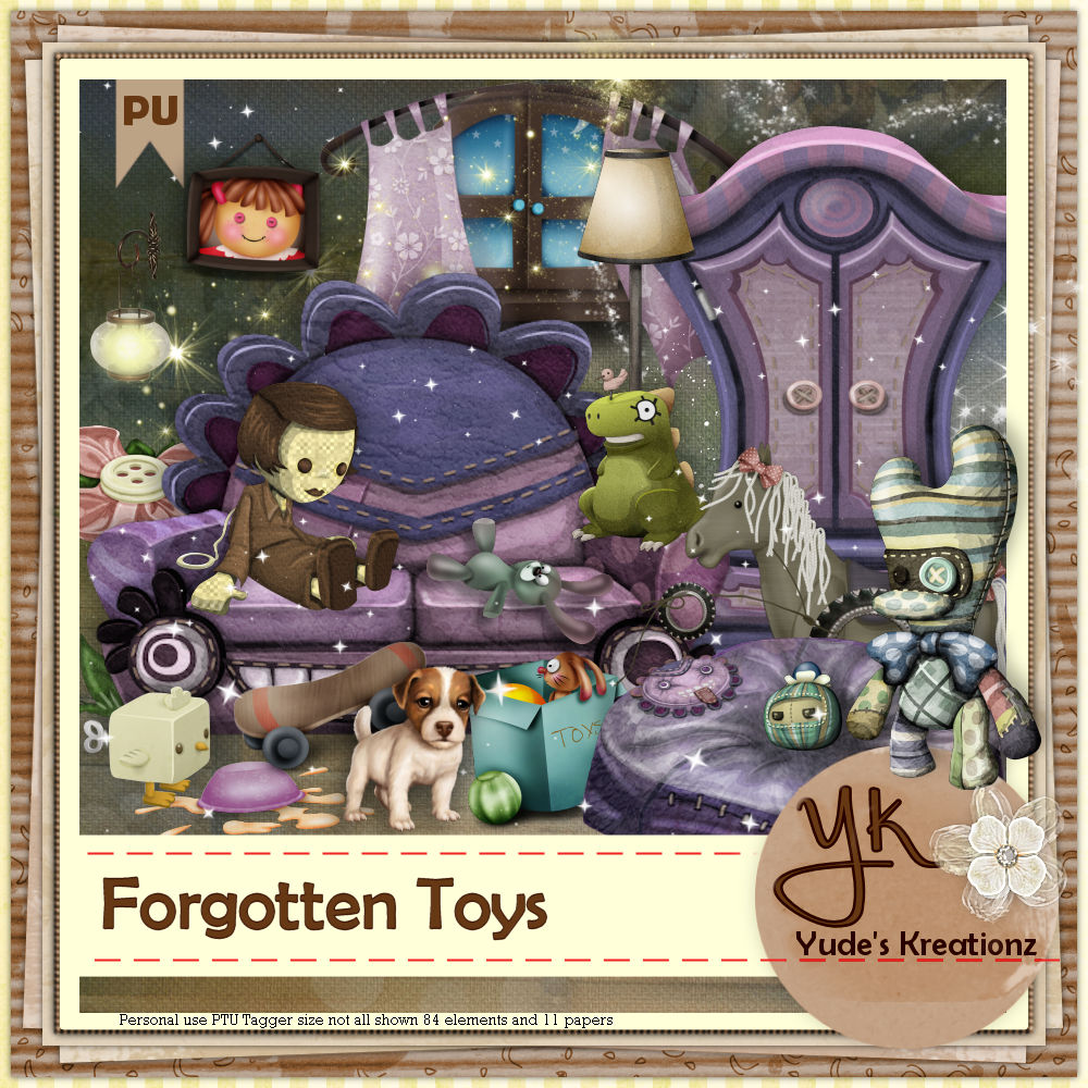 Forgotten Toys PU - Click Image to Close
